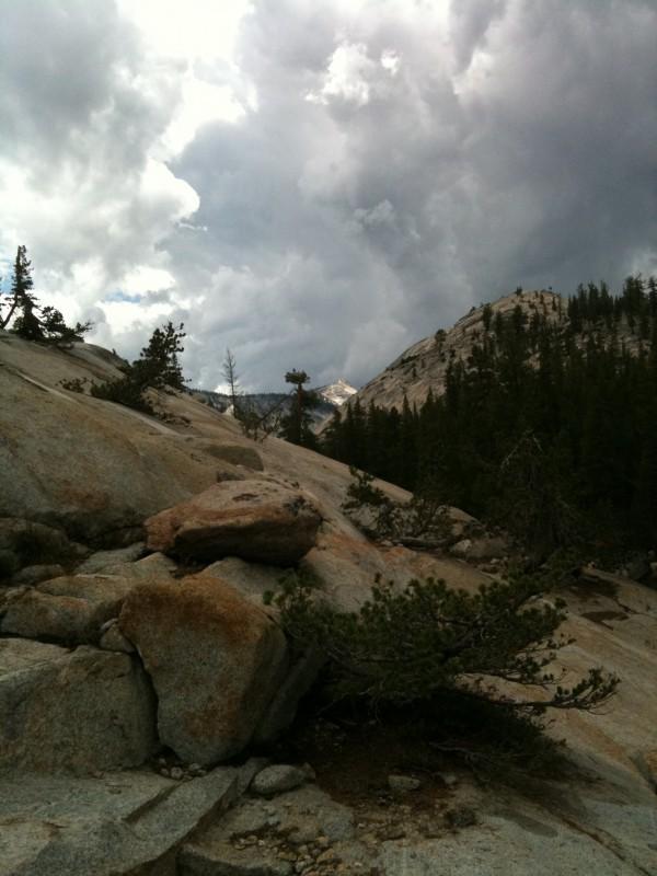 Tenaya Creek views
