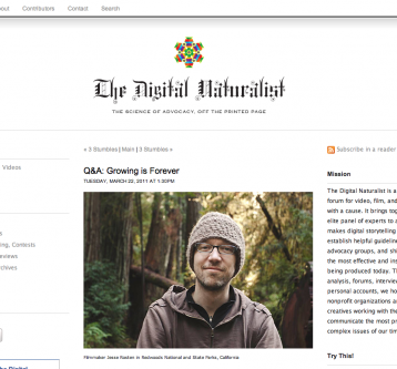 Q & A with The Digital Naturalist